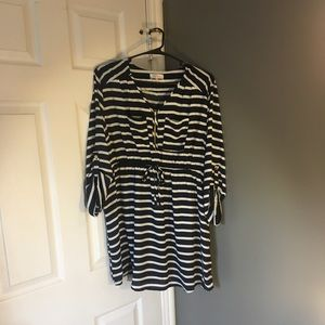 Stella tweed maternity top NWOT